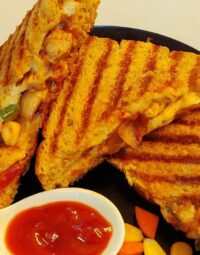 Chicken cheese grill sandwich